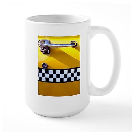 Checker Cab No. 8 Large Mug