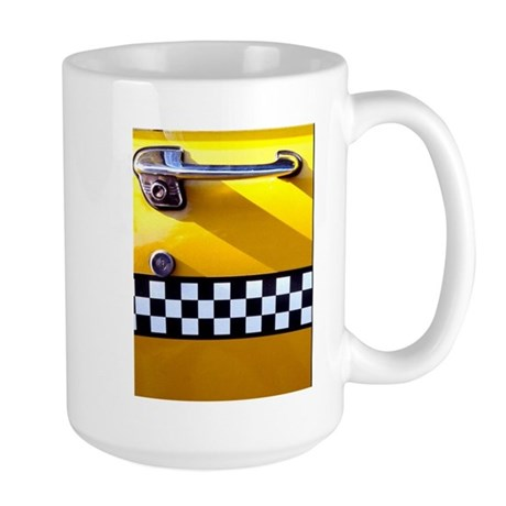 Checker Cab No. 8 Large Mug
