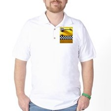 Checker Cab No. 8 T-Shirt