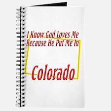 God Loves Me in CO Journal