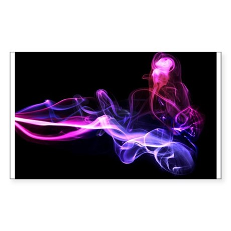Smoke that is good for you! Sticker (Rectangle)