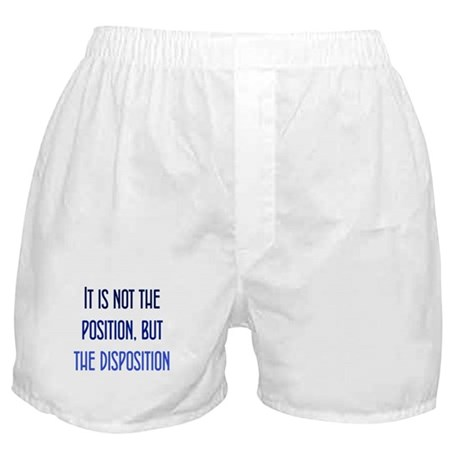 Disposition, not Position Boxer Shorts