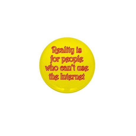 Internet Reality Mini Button (10 pack)