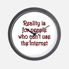 Internet Reality Wall Clock