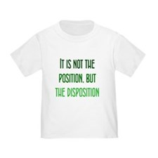 Disposition, not Position T