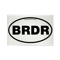 Birder Rectangle Magnet