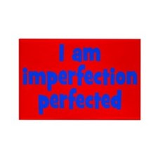 Imperfection Perfected Rectangle Magnet (10 pack)