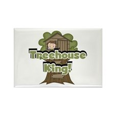 Treehouse King Rectangle Magnet (100 pack)