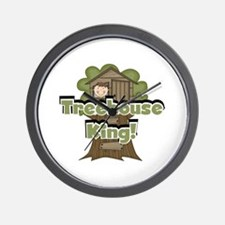 Treehouse King Wall Clock