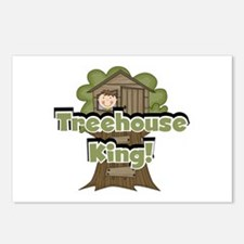 Treehouse King Postcards (Package of 8)