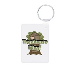 Treehouse King Keychains