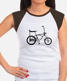 Retro Banana Seat Bike Women's Cap Sleeve T-Shirt