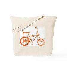 Retro Orange Banana Seat Bike Tote Bag