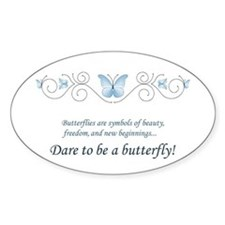 Butterfly Challenge Decal