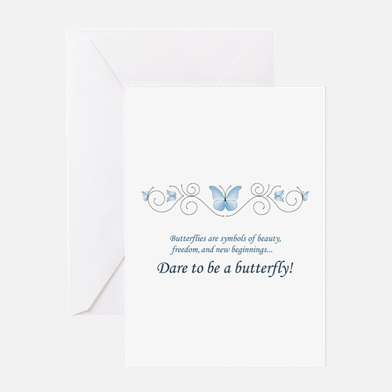Butterfly Challenge Greeting Card