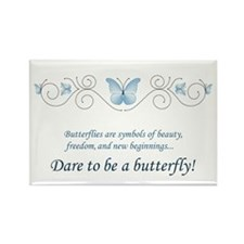 Butterfly Challenge Rectangle Magnet (100 pack)