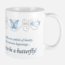 Butterfly Challenge Small Mugs