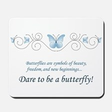 Butterfly Challenge Mousepad