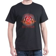 I Wear Red For My Brother (floral) T-Shirt