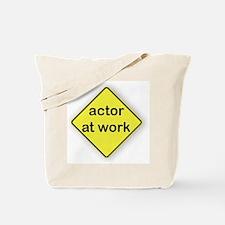 Actor At Work Tote Bag