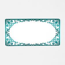 Mardi Gras Muse Aluminum License Plate