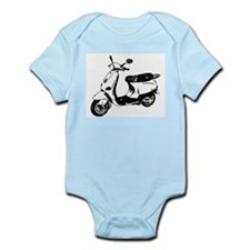 Vespa Scooter Infant Bodysuit