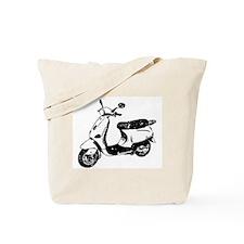 Vespa Scooter Tote Bag