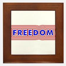 FREEDOM Framed Tile