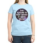 the future is not what it use Women's Light T-Shir