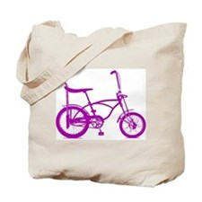 Retro Banana Seat Bike Tote Bag