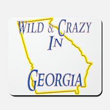 Wild & Crazy in GA Mousepad