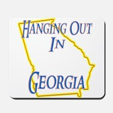 Hanging Out in GA Mousepad