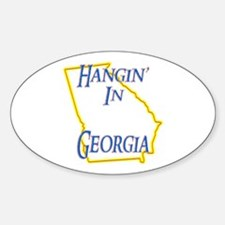 Hangin' in GA Decal