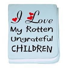 Rotten Children baby blanket