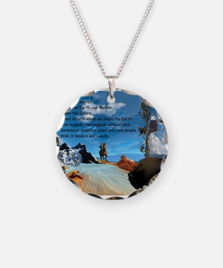 Honor Prayer Necklace