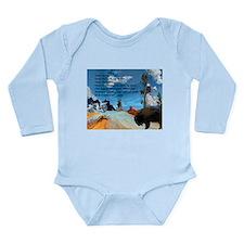 Honor Prayer Long Sleeve Infant Bodysuit
