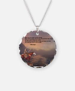 Go Forward With Courage Necklace