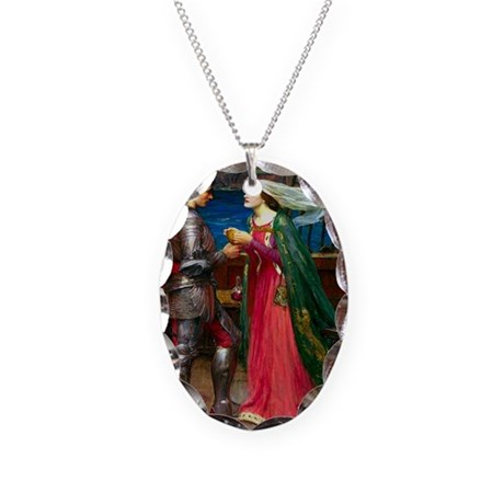 Sharing the Potion Necklace Oval Charm