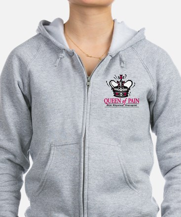 """Physical Therapy """"Queen"""" Zip Hoodie"""