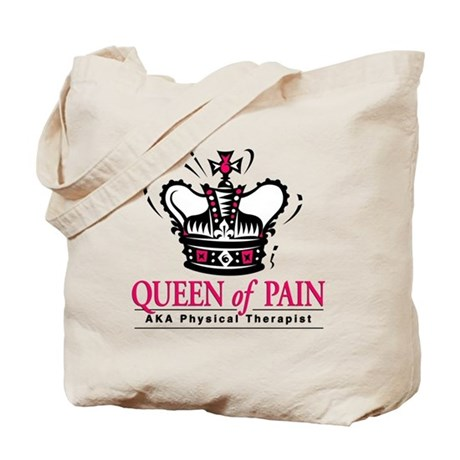 """Physical Therapy """"Queen"""" Tote Bag"""