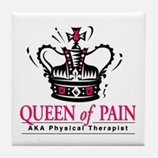 "Physical Therapy ""Queen"" Tile Coaster"