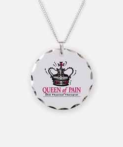 """Physical Therapy """"Queen"""" Necklace"""