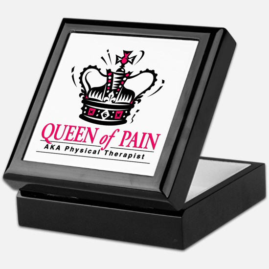 """Physical Therapy """"Queen"""" Keepsake Box"""