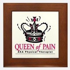 """Physical Therapy """"Queen"""" Framed Tile"""
