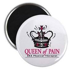 "Physical Therapy ""Queen"" 2.25"" Magnet (10 pack)"