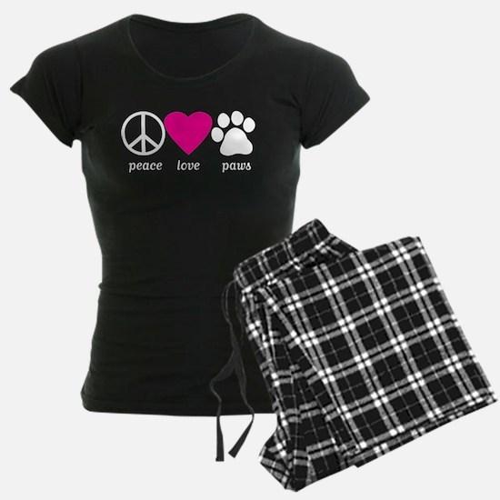 Peace Love Paws Pajamas