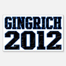 Gingrich 2012 Decal
