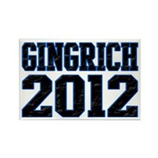 Gingrich 2012 Rectangle Magnet