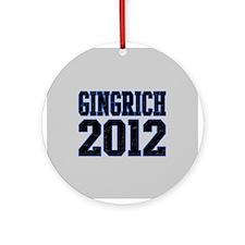 Gingrich 2012 Ornament (Round)