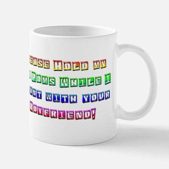 Hold my pom poms Mug
